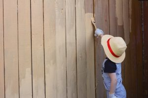 Painters In Pomona Fence painting